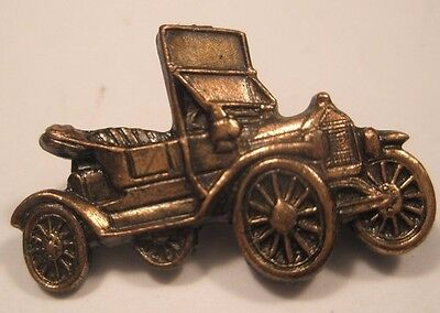 Old Convertible Car Vintage Lapel Pin model at ford dodge chev gift