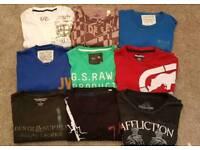 Assorted designer long sleeve tshirts