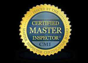 Is your Home Inspector a CERTIFIED MASTER INSPECTOR?