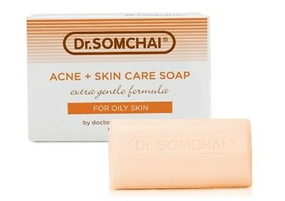 Dr.Somchai Reduce Acne & Cleansing Cream Soap Best Skin Care for Oily Skin (Best Acne Soap For Oily Skin)