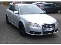2005 AUDI A4 2.0 TDI S LINE 140 6 SPEED