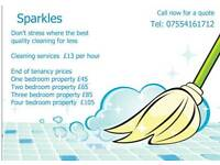 Sparkles Domestic cleaning