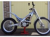 Sherco 250 Trials Motor Cycle: Road Registered