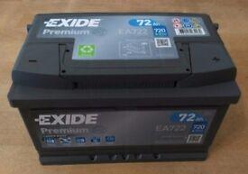 Exide premium type 096/100 as new