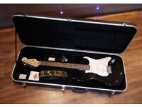 Saphira Sp1000 Series Custom Stratocaster in Fight Case - Mint Conditon.