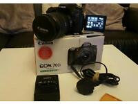 Canon 70d with 17-55 f2.8 IS lens