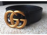 Gucci gg belt x designer style x vintage style x unisex