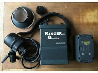 Elinchrom Ranger RX Quadra 400w/s portable Flash Kit