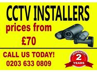 CCTV INSTALLERS- We offer 2 years warranty - Full HD Systems. FREE QUOTES