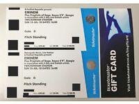 3x FACE VALUE Eminem Tickets - STANDING - 15th July - Twickenham