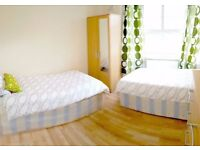 *1 min to station East Acton cosy twin/dbl room