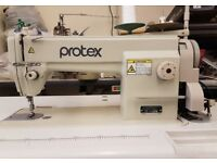 Protex TY-1130M Industrial Lockstitch Sewing Machine With Brand New Motor