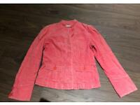 Pink Top Shop jacket ladies size 10