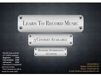 Music Lessons: Learn to Record Music!