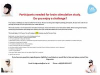 Participants wanted for study. £15 Amazon gift card for 1.5 hours of your time.