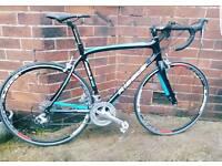 Ribble supportive Assuzzo Carbon Fibre Road Bike