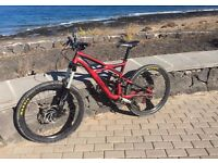 specialized enduro mountain bicycle