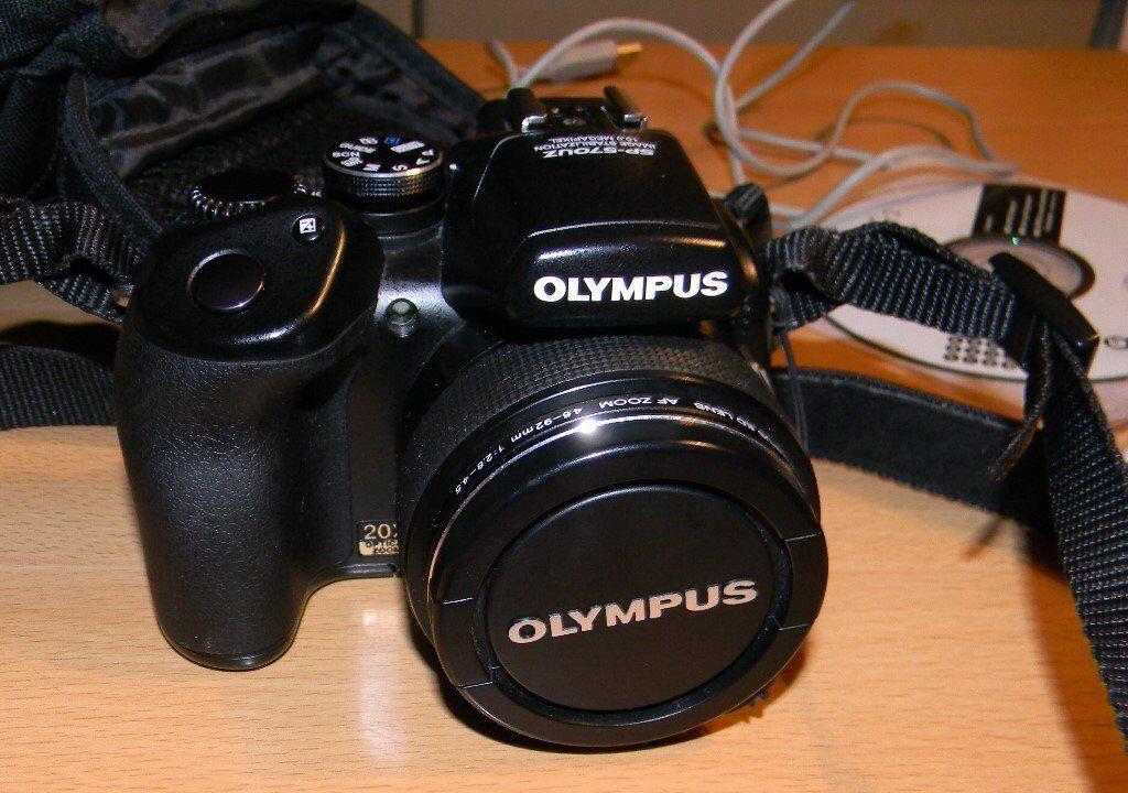 Olympus sp 570UZ digital camera