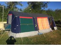 Raclet acropolis trailer tent. 4 to 8 berth. Very good condition, only used a hand full of times