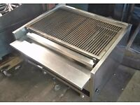 ARCHWAY CHARCOAL SHORT GRILL 3 BURNER FOR COMMERCIAL CATERING