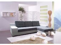 BOSTON Delivery 1-10 days Brand New Packed Corner Sofa Bed Sleep Function and Storage