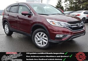 2015 Honda CR-V EX, Rear View Camera, Heated Seats, One Owner !!