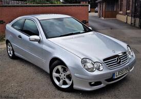 Mercedes C160 SE Coupe 2006 only 92k 1.8 Kompresor