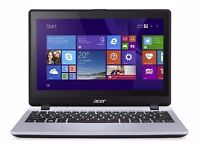 AS NEW Acer Aspire V3-112P touchscreen/Windows 10/carry case/disc player