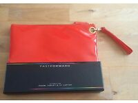 Red Pvc Ipad/ Tablet/ 13'' Laptop Bag