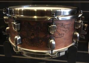 """Caisse Claire / Snare Drum Black Panther Modèle Chris Adler 12x5.5"""" usagée / used"""