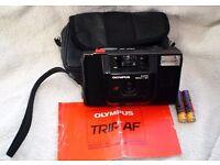 80's Olympus Trip AF camera + extras!