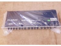 PHONIC Z2X MIXER 2 ZONE-MIXER STILL WRAPPED IN BOX