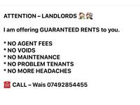 Guaranteed Rent fees