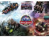 Alton Towers Tickets (Any Date)