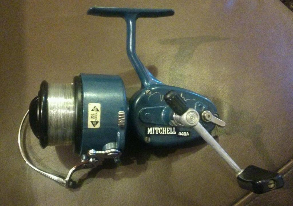 Vintage mitchell match 440a fishing reel in hucknall for Old mitchell fishing reels