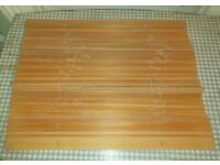 1960s Venetian Blinds Real Solid Wood Slats Plank Vintage Retro for Repair Restringing