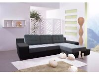 Delivery 1-3 days BOSTON Brand New Packed Corner Sofa Bed Sofa Corner Sleep Function and Storage