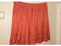 Pair of Excellent Quality Made-to-Measure Curtains