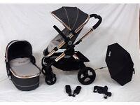 iCandy Peach 3 Truffle Pushchairs Single Seat Stroller