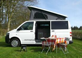 Campervan Hire - New VW campervans from £75 per night, ideal for Exploring Scotland / NE England