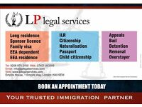 Immigration Advisor- Visa Service. Tier 1, Tier 2, Tier 4, Tier 5, ILR, Appeal, EEA Application.