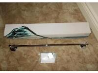 Chrome plated towel rail (Unused)