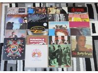 Vinyl LPS , Rock, Indie, Soul, New wave. prices below or will sell as part/full collection