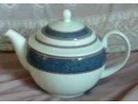 Beautiful Royal Worcester China 2 Pint Tea Pot