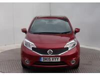 Nissan Note ACENTA PREMIUM (red) 2015-03-10