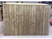 🌻Pressure Treated Vertical Board Wooden Garden Fence Panels