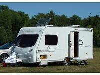 2008 Lunar Clubman 475K 2 Berth Caravan in Excellent Condition