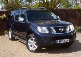 Nissan Navara 2.5 dCi Tekna Double Cab Pickup 4dr (EU5) # 1 Owner # Leather # NAV