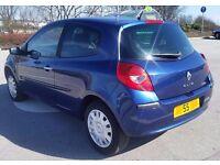 Cheap 2005 Renault Clio 1.5 Dci £30 Tax Group 3 Insurance 70 Mpg Long Mot