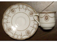Vintage Royal Doulton cup and saucer.